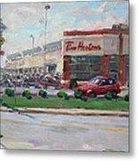 Tim Hortons By Niagara Falls Blvd Where I Have My Coffee Metal Print