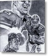 Tim Tebow Metal Print by Jonathan Tooley