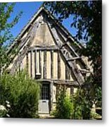Timber A Frame Cottage Metal Print