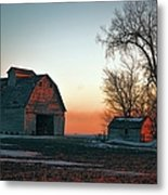 Timber Avenue Crib 3 Metal Print