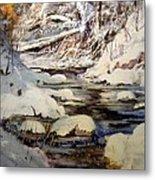 Timber Creek Winter Metal Print