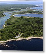 Timber Point, Sand Point, Curtis Cove Metal Print