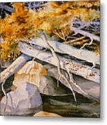 Timber Tumble Metal Print
