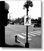 Time And Routes  Metal Print