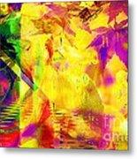 Time As An Abstract Metal Print