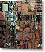 Time For A Motherboard Upgrade 20130716 Square Metal Print by Wingsdomain Art and Photography