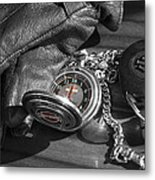 Time For A Ride Metal Print