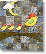 Time For Bed Metal Print by Julie Bull