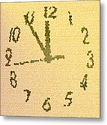 Time Fracture Metal Print