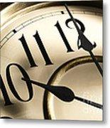 Time Goes By Metal Print