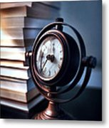 Time Metal Print by HD Connelly