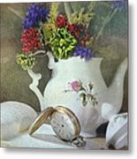 Time In A Pocket Metal Print by Diana Angstadt