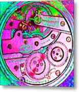 Time In Abstract 20130605p108 Square Metal Print