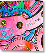 Time In Abstract 20130605p144 Long Metal Print by Wingsdomain Art and Photography