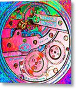 Time In Abstract 20130605p144 Square Metal Print