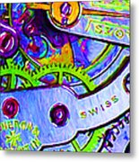 Time In Abstract 20130605p36 Metal Print by Wingsdomain Art and Photography