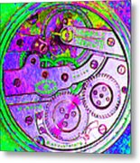 Time In Abstract 20130605p72 Square Metal Print