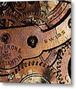 Time In Abstract 20130605rust Long Metal Print by Wingsdomain Art and Photography