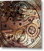 Time In Abstract 20130605rust Square Metal Print by Wingsdomain Art and Photography