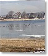 Time In New England Metal Print