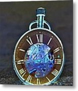 Time In The Sand In Negative Metal Print