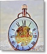 Time In The Sand Metal Print