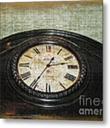 Time Is Fleeting Metal Print