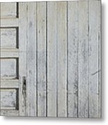 Time Lines Metal Print by Paula Rountree Bischoff