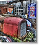 Time Marches On Metal Print