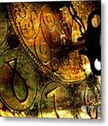 Time Secrets Metal Print