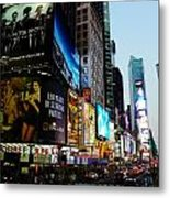 Time Square 2 Metal Print