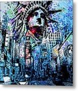 Times Square 2 Metal Print