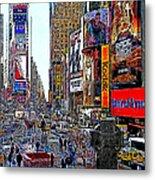 Time Square New York 20130503v4 Metal Print