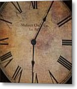 Time Stands Still For No One Metal Print