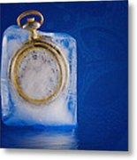 Time Stands Still Metal Print