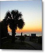 South Carolina Edisto Beach Metal Print by Ella Char