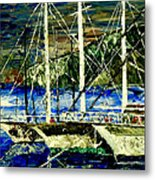 Time To Sail  Metal Print