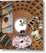 Time Tunnel Metal Print