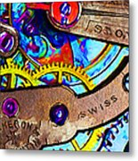Time Waits For Nobody 20130605 Metal Print by Wingsdomain Art and Photography