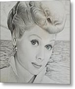 Timeless Beauty 2 Metal Print