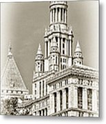Timeless- New York City Hall Metal Print