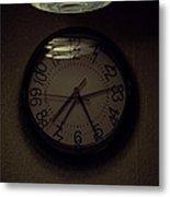 Time's Callous Imprecision Metal Print