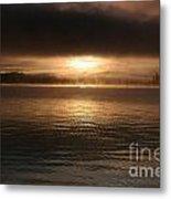 Timothy Lake Mysterious Sunrise 2 Metal Print