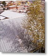 Tin Roof Metal Print