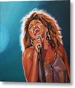 Tina Turner 3 Metal Print