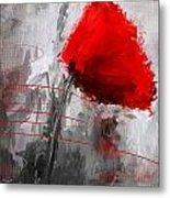 Tint Of Red Metal Print