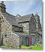 Tintagel Post Office  Metal Print