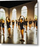 Tiny Dancers Metal Print