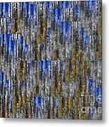 Tiny Ripples Background Metal Print