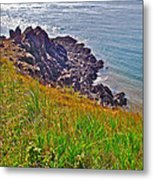 Tip Of Cape D'or-ns Metal Print